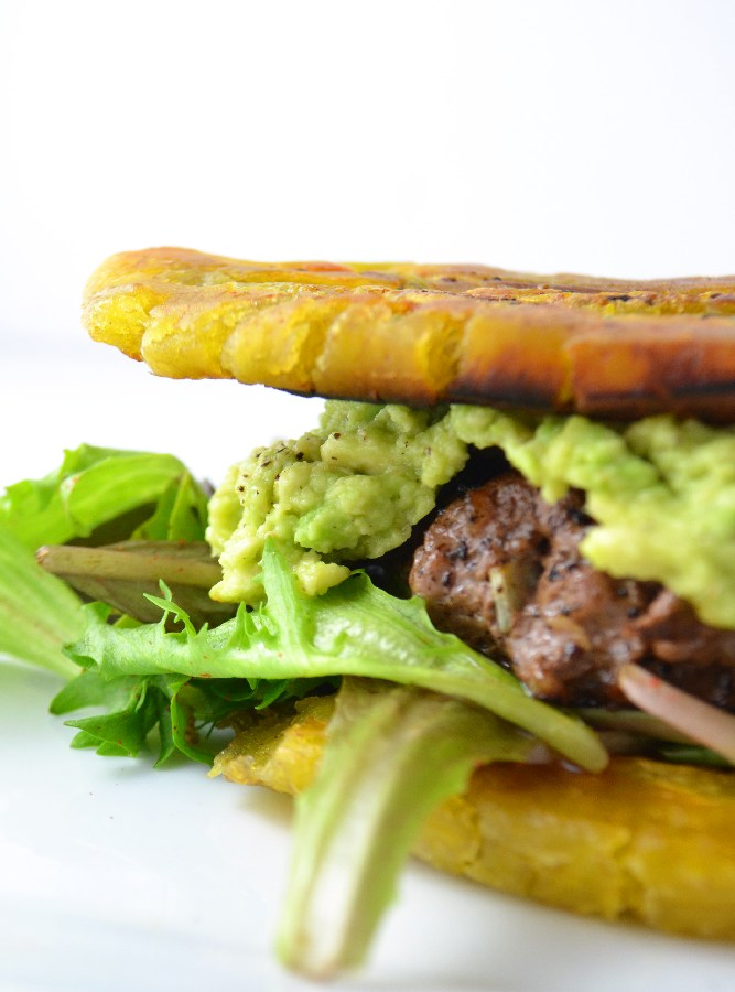 Jibarito - Plantain Burger (Whole30 + Paleo) - Fridge to Fork