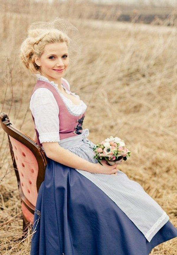 Wunderschne Braut Dirndl von Di Lommi