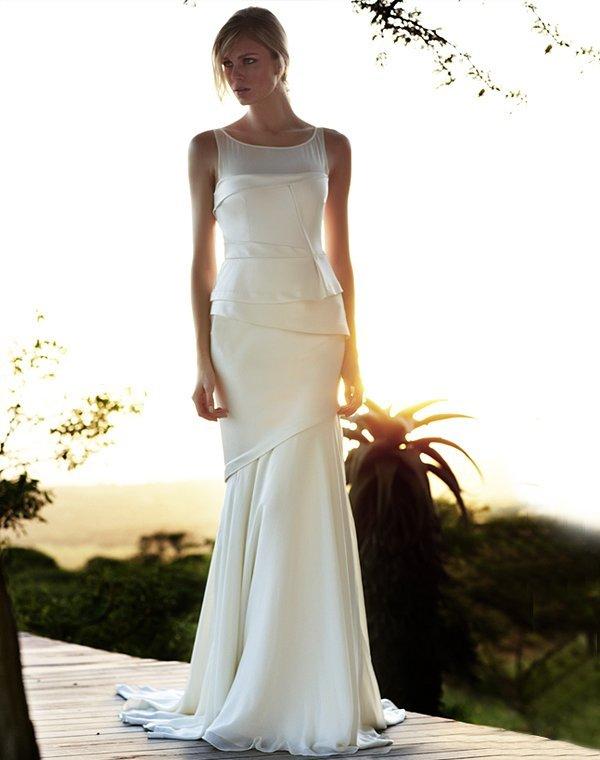 Schönste Brautmode Für Alle Die Es Schlicht Und Elegant Mögen