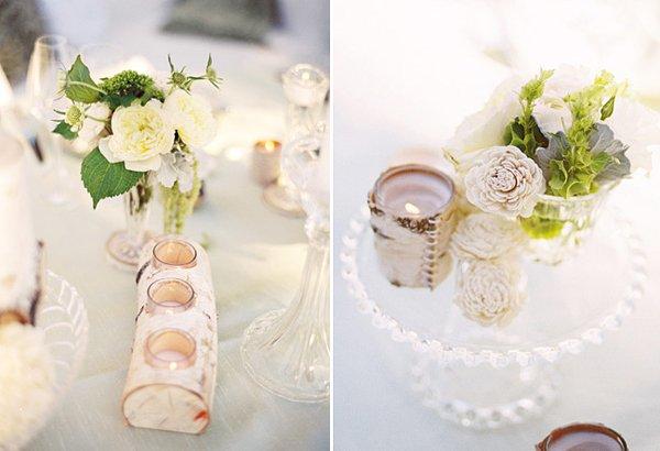 Hochzeitsdeko aus Holznatrlich und vielseitig