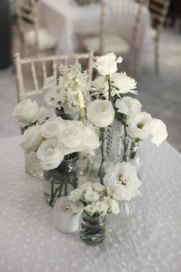 Hngende Blumendeko fr die Hochzeit  Friedatherescom
