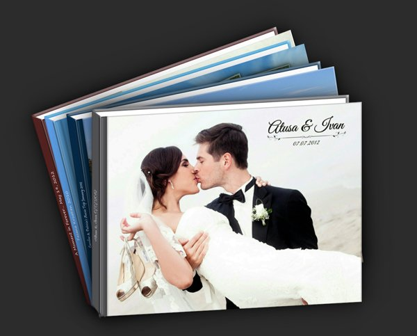 Fotoalbum Hochzeit erstellen lassen  Friedatherescom