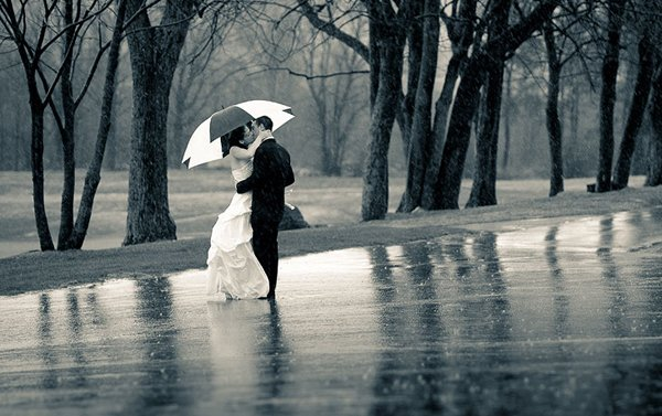 Die besten Tipps fr eine Hochzeit im Regen