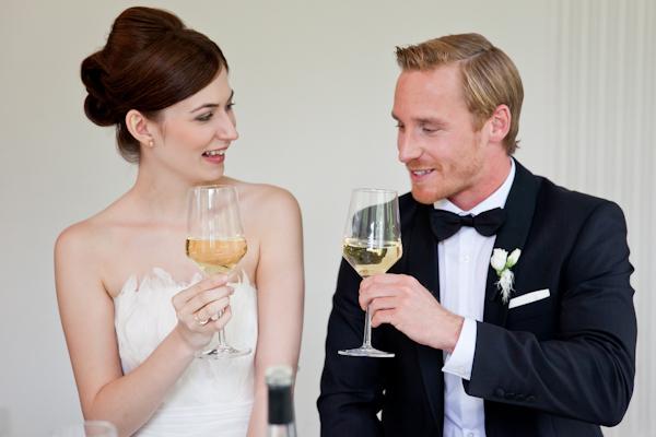 Ein atemberaubendes Style Shooting fr eine Hochzeit in