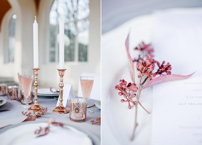 Hochzeitsinspiration in Kupfer