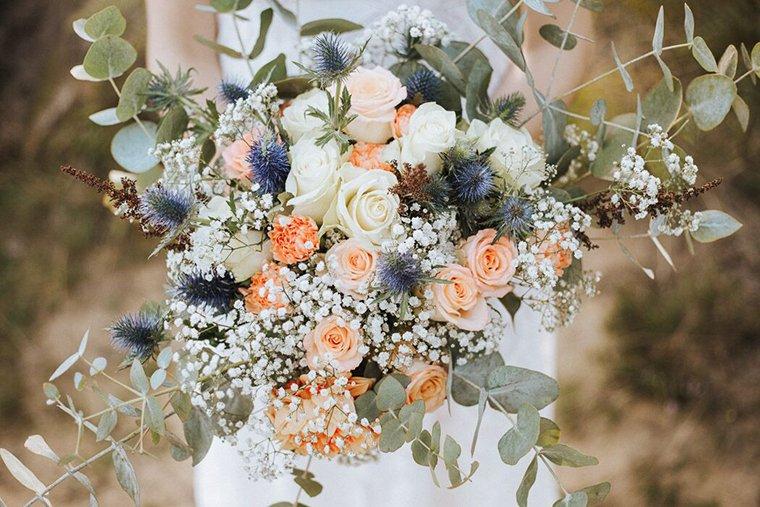 Brautstrue fr den Herbst