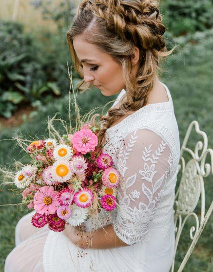 Bume dekorieren fr Hochzeit