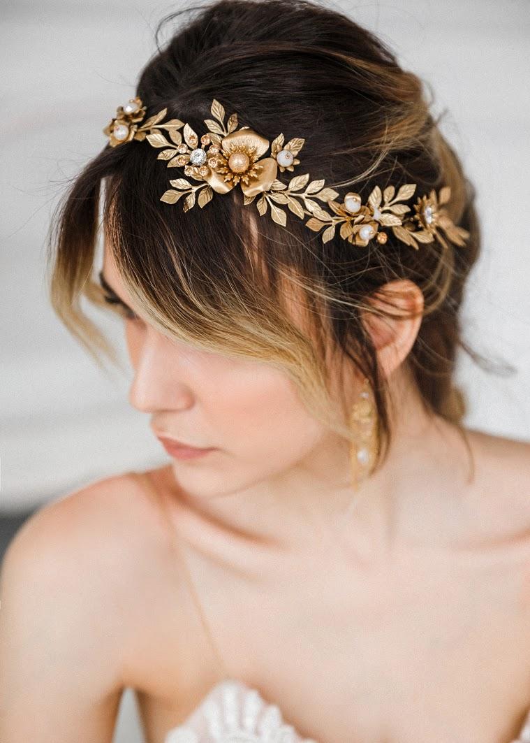 Braut Haarschmuck von Biano