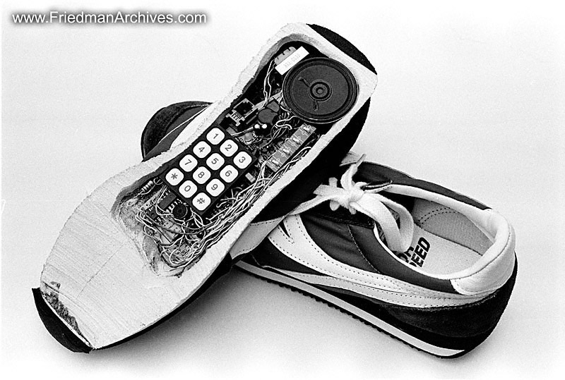 Image result for pic of shoe phone