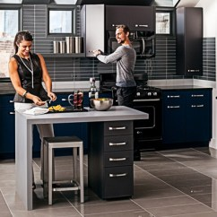 Ge Artistry Kitchen Ikea Backsplash Takes Appliances Back To Classic Friedman S Ideas And The Series Is A Almost Retro Style That Eliminates All Buttons Lights Replaces Them With