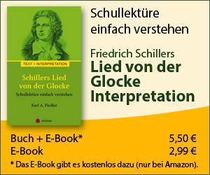 Schiller Lied von der Glocke  Text Zusammenfassung