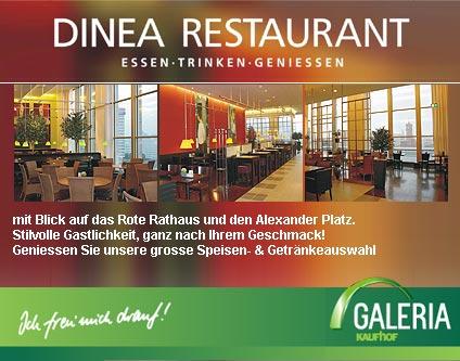 DINEA Restaurant Restaurant in der Galeria Kaufhof Alle