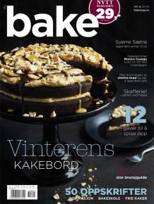 Frie kaker har fått fast spalte i Bake
