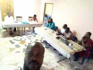 Meeting with Pastors