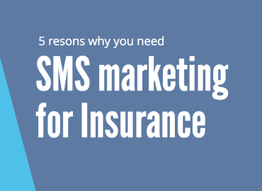 SMS marketing for insurance