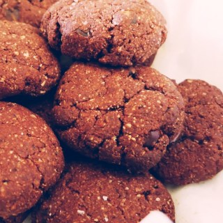 healthy chocolate cookies