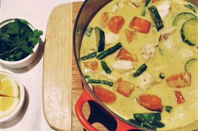 low fodmap thai curry