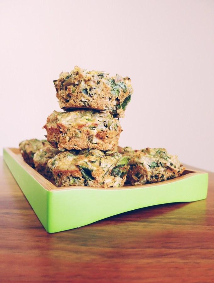 Super Green Savoury Muffins