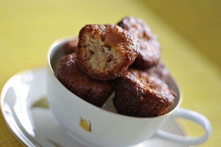 Pineapple-Papaya-Coconut Macaroon Amish Friendship Bread Muffins (Vegan) (Gluten-Free)