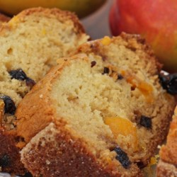 Blueberry Mango Amish Friendship Bread | friendshipbreadkitchen.com