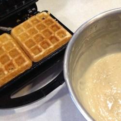 Amish Friendship Bread Waffles