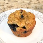 Blueberry Oat Bran Amish Friendship Bread Muffins