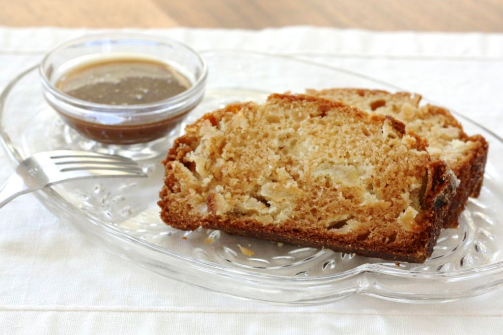 Apple Caramel Amish Friendship Bread | friendshipbreadkitchen.com