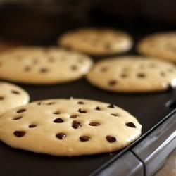 Amish Friendship Bread Chocolate Chip Pancakes