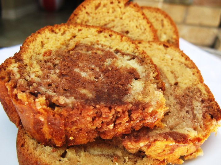 Butterscotch Chocolate Marble Amish Friendship Bread by May Naing | friendshipbreadkitchen.com