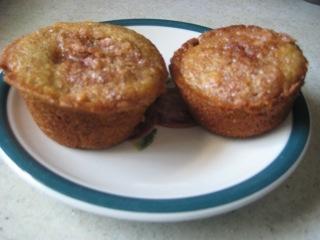 Banana Fig Amish Friendship Bread Muffins by Jan Gardner   friendshipbreadkitchen.com