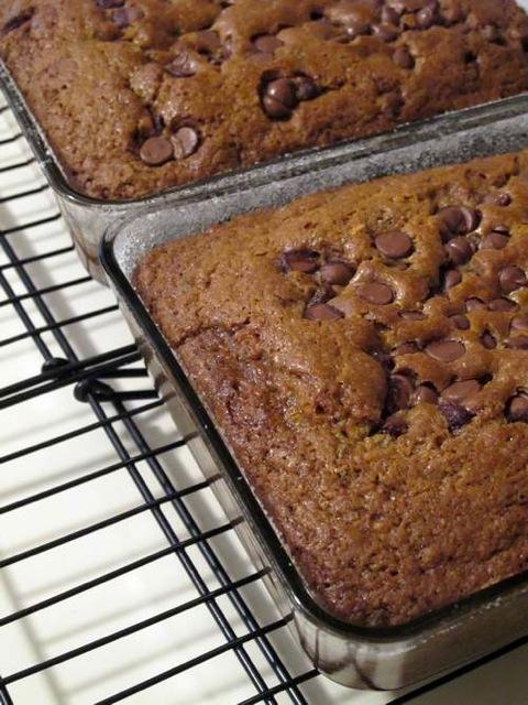 Pistachio, Basil Chocolate Amish Friendship Bread by Michelle Lee | friendshipbreadkitchen.com