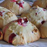 Cranberry Amish Friendship Bread Drop Scones