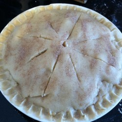 Amish Friendship Bread Pie Crust Recipe by Jennifer Werth | www.friendsihpbreadkitchen.com