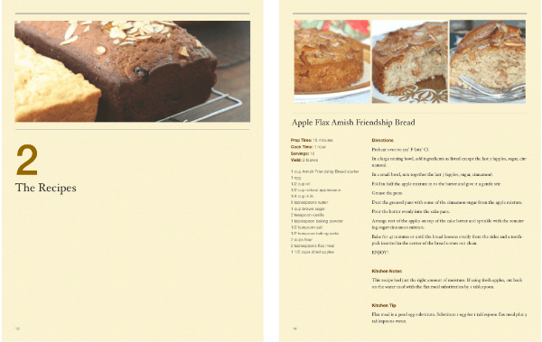 Quick and Easy Amish Friendship Bread Recipes Sample 3