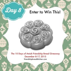 Day 8 of the 10 Days of Amish Friendship Bread Giveaway – Mix or Mash