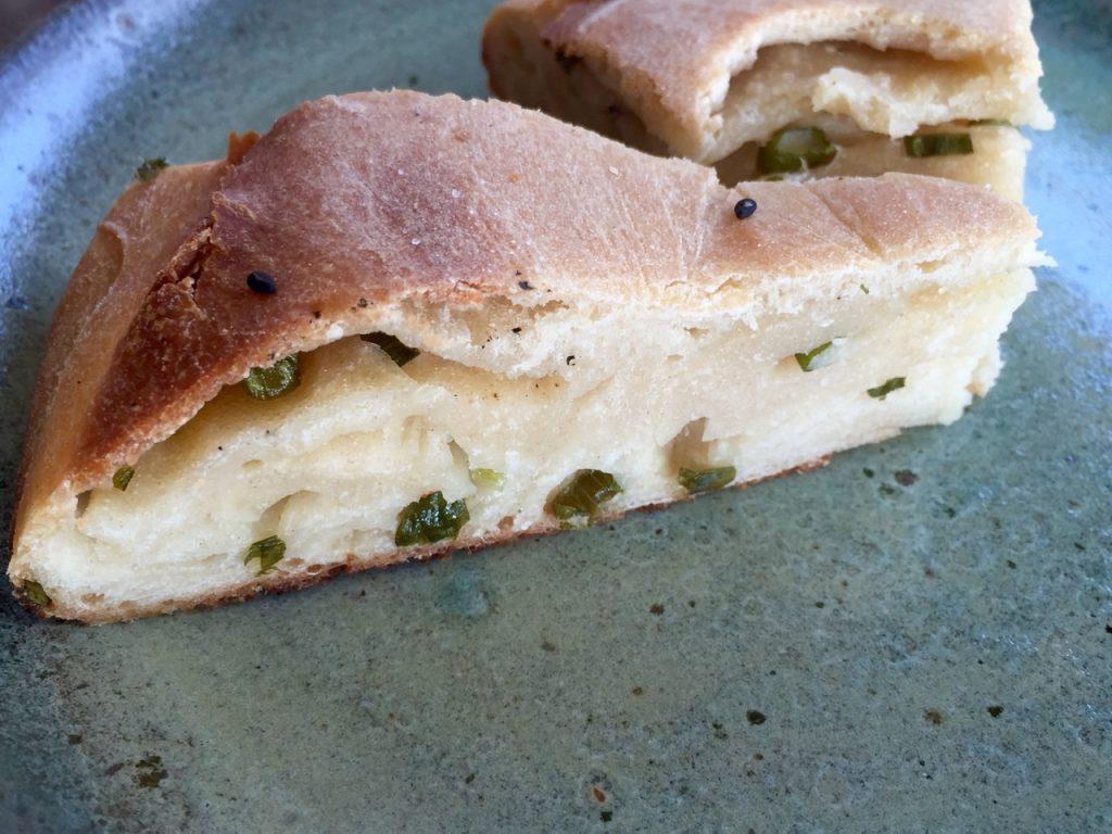 Scallion Skillet Amish Friendship Bread   friendshipbreadkitchen.com