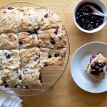Blueberry Cream Amish Friendship Bread Biscuits