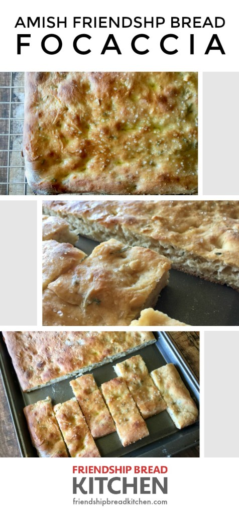 Amish Friendship Bread Foccacia | friendshipbreadkitchen.com