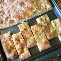 Amish Friendship Bread Rosemary Focaccia
