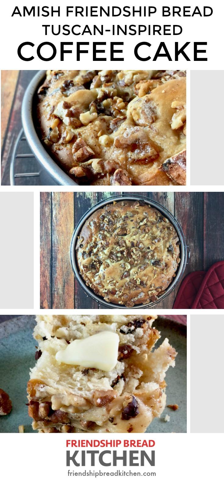Amish Friendship Bread Tuscan Coffee Cake | friendshipbreadkitchen.com