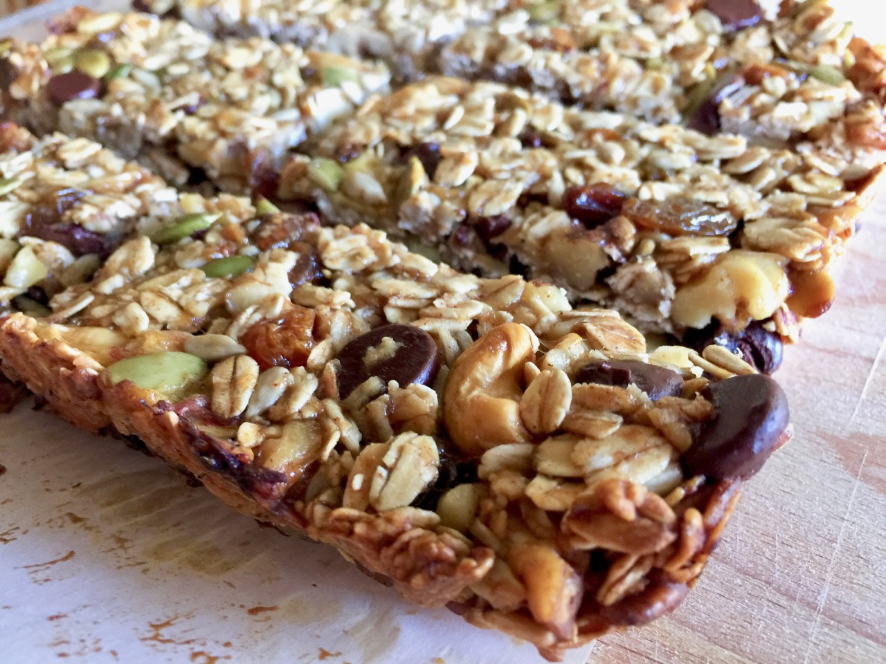 Amish Friendship Bread Granola Bars | friendshipbreadkitchen.com