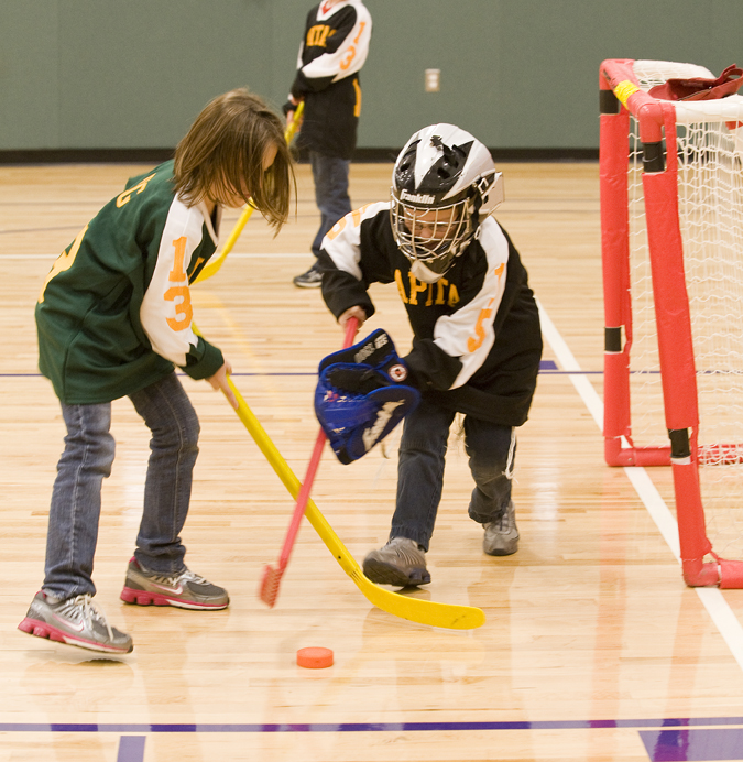 Inclusion Floor Hockey Learning how to be a winner  Friendship Circle  Special Needs Blog