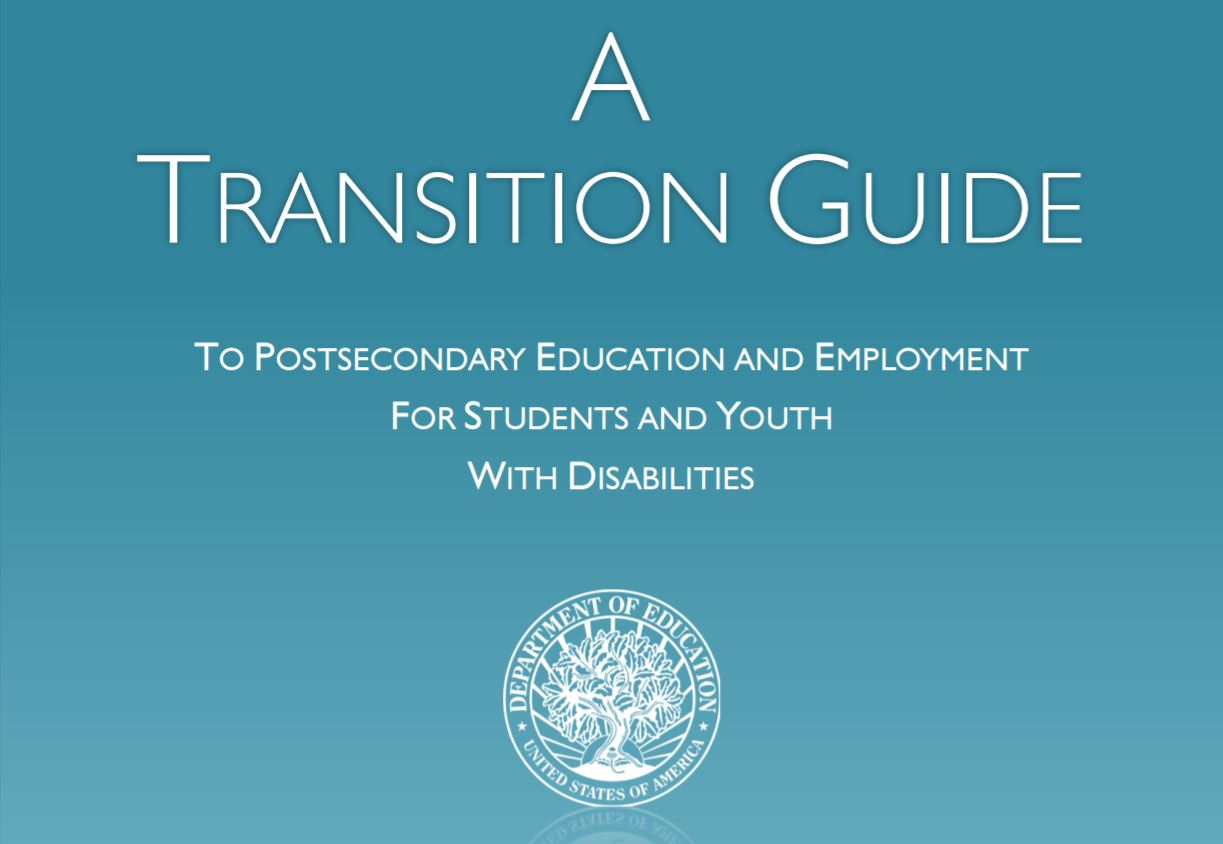 U S Department Of Education Publishes New Transition