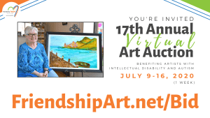 Now VIRTUAL – 17th Annual Friendship Heart Gallery & Studio Art Auction