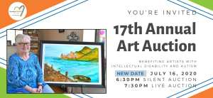NEW Date for the 17th Annual Friendship Heart Gallery & Studio Art Auction