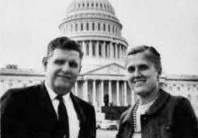 George and Helen Bliss, staff members in the late '60s.