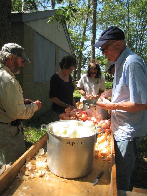 Onion brigade.