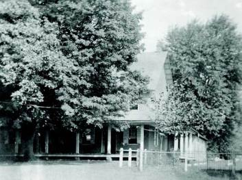 Penn Hill meetinghouse, built in 1823. Courtesy of Haverford College Special Collections