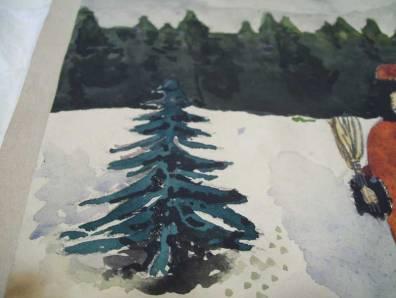 painting_Santa