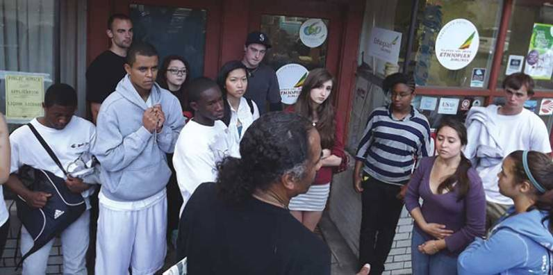 Tyree Scott Freedom School in Seattle. Photo courtesy of the author.